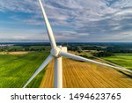 Wind Power Station. Wind...