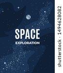 space exploration modern... | Shutterstock .eps vector #1494628082