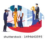 celebrity couples photoshoot... | Shutterstock .eps vector #1494643595