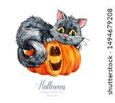Watercolor Halloween. Halloween ...