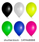 colorful ballons | Shutterstock . vector #149468888