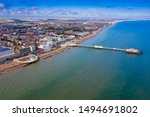Aerial View Of Worthing ...