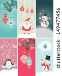 christmas and new year's banners | Shutterstock .eps vector #149477456