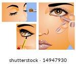 make up | Shutterstock . vector #14947930