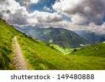 panoramic view of mountain...   Shutterstock . vector #149480888