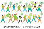 vector illustration of a group... | Shutterstock .eps vector #1494942125