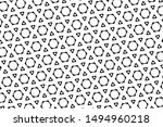 ornament with elements of black ... | Shutterstock . vector #1494960218