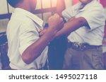 blurred background  violent... | Shutterstock . vector #1495027118