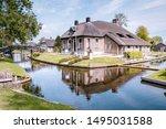 Giethoorn Netherlands August...
