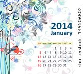 Calendar For 2014  January