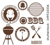 barbecue grill | Shutterstock .eps vector #149510336