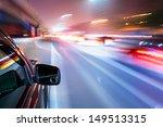car driving fast | Shutterstock . vector #149513315