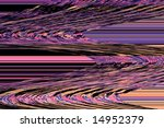Background consisting of a sweeping pattern over horizontal lines - stock photo
