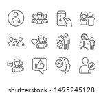 set of people icons  such as... | Shutterstock .eps vector #1495245128