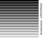black and white striped... | Shutterstock .eps vector #1495299632