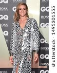 Small photo of LONDON, UK. September 03, 2019: Gabby Logan arriving for the GQ Men of the Year Awards 2019 in association with Hugo Boss at the Tate Modern, London. Picture: Steve Vas/Featureflash