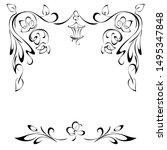 Decorative Symmetrical Frame...
