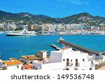 View Of The Port Of Ibiza Town  ...