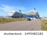 ijmuiden  the netherlands  ... | Shutterstock . vector #1495482182