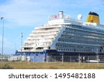 ijmuiden  the netherlands  ... | Shutterstock . vector #1495482188