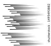 speed lines in arrow form ....   Shutterstock .eps vector #1495493882