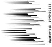 speed lines in arrow form ....   Shutterstock .eps vector #1495493885