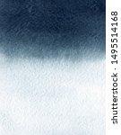 watercolor dark blue gradient...   Shutterstock . vector #1495514168