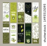 set of templates packaging for... | Shutterstock .eps vector #1495515095