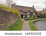 Thatched Roof Cottage In North...