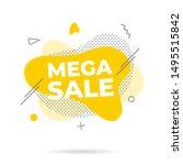 modern liquid abstract mega...   Shutterstock .eps vector #1495515842