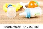 baby milk bottle | Shutterstock . vector #149553782