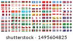 flags of all asian countries ...   Shutterstock .eps vector #1495604825