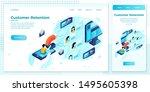 vector cross platform... | Shutterstock .eps vector #1495605398