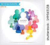 colorful vector design for... | Shutterstock .eps vector #149565158