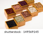 Collection Of Various Beans...