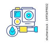 waterproof action camera color...
