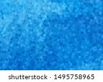 light blue vector backdrop with ... | Shutterstock .eps vector #1495758965
