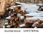 Log In The Winter