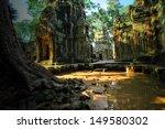 stone murals and sculptures in... | Shutterstock . vector #149580302