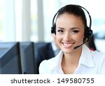 female customer support... | Shutterstock . vector #149580755