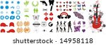 set of icons | Shutterstock .eps vector #14958118