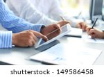 business adviser analyzing... | Shutterstock . vector #149586458