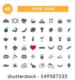food icon   set. vector | Shutterstock .eps vector #149587235
