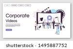 corporate videos landing page...