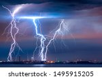 Strong Thunderstorm With...