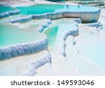 Famous Blue Travertine Pools...