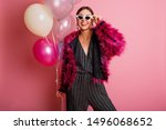 fashionable  happy model  in  ...   Shutterstock . vector #1496068652