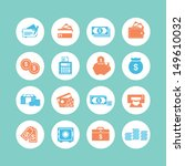 finance icons | Shutterstock .eps vector #149610032