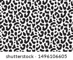 abstract animal skin leopard... | Shutterstock .eps vector #1496106605