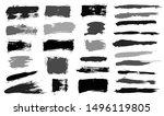 brush strokes. vector... | Shutterstock .eps vector #1496119805
